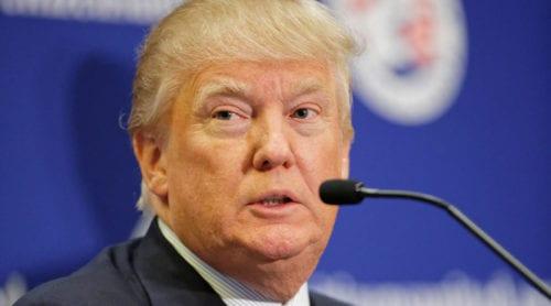 Trump nobbar mediamiddag i Vita huset