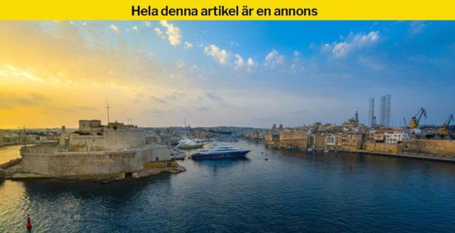Internetkasinon frodas på Malta