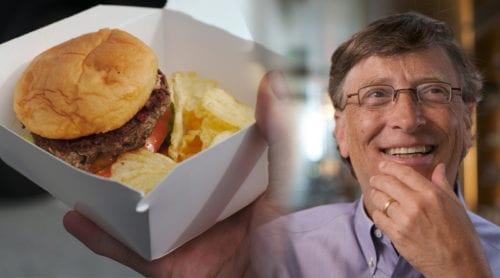 Bill Gates finansierar laboratorieframställd hamburgare