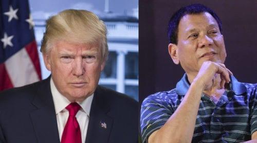 Trump bjuder in Duterte till Vita huset