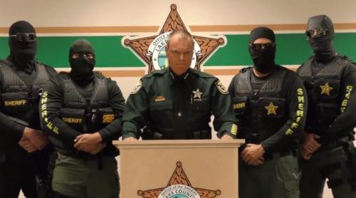Se sheriffens varning till knarklangarna