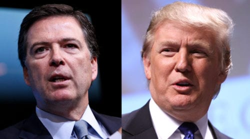 Trump sparkar James Comey