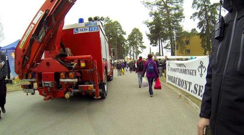 Räddningstjänsten kallades på falskt larm för att störa mötesfrihet under Rättviks marknad