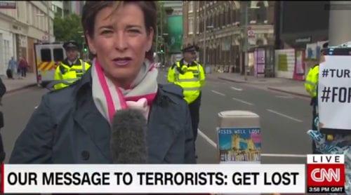 """Video: Här iscensätter CNN en muslimsk """"kärleksmanifestation"""""""