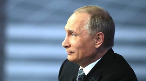 Putin: Sverige i Nato utgör ett hot mot Ryssland
