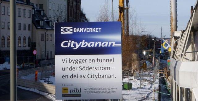 Nya Citybanan i Stockholm är i drift