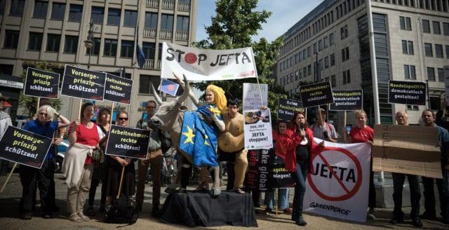 Nytt handelsavtal mellan EU och Japan oroar