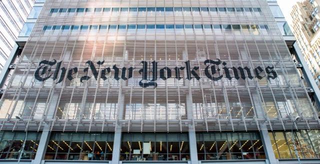 New York Times tar ställning för två demokratiska kandidater