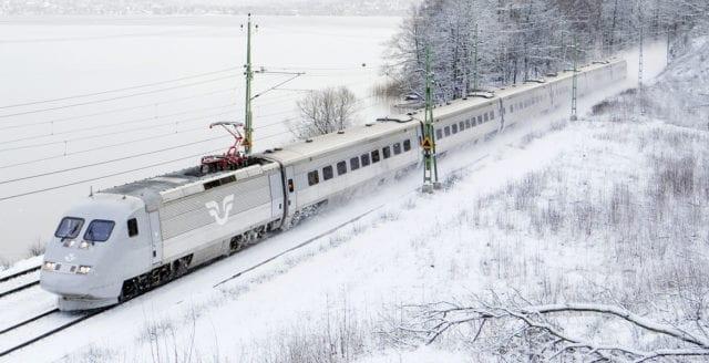 Rekordmånga tåg försenade under 2018