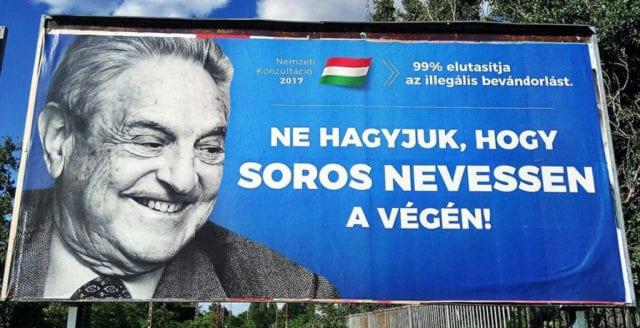 """Ungern informerar sina medborgare om """"Sorosplanen"""""""