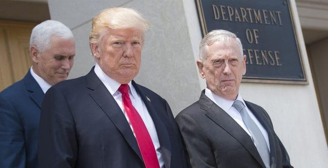 Trump talade om kriget i Afghanistan