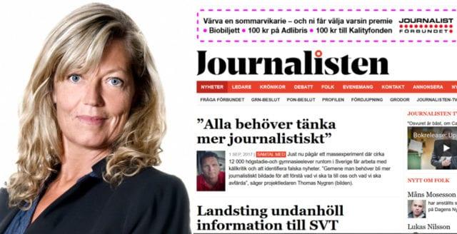 Tidningen Journalisten nära konkurs – tvingas byta lokal