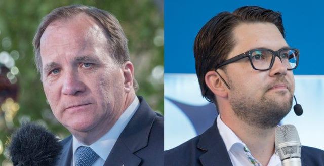 SD begär misstroendeförklaring mot Löfven i morgon