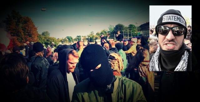 Han infiltrerade extremvänstern under Göteborgsdemonstrationen – fångade stenkastarna i närbild