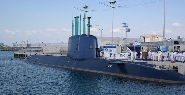 Tyskland säljer kärnvapenkapabla ubåtar till Israel