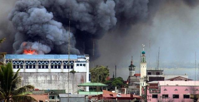 Duterte säger att terroristockuperad stad är befriad