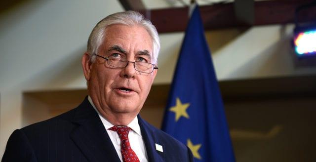 Uppgifter: Rex Tillerson kommer avgå som utrikesminister