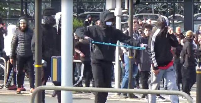 Vänsterextremister döms till fängelse för upploppen i Göteborg