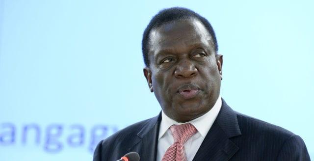 Han ska efterträda Mugabe som Zimbabwes president