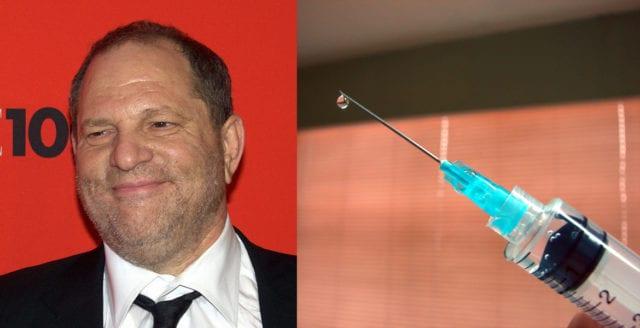 Harvey Weinstein planerade vaccinkritisk dokumentär före sexanklagelserna