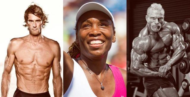 Starka och framgångsrika veganer inom sport
