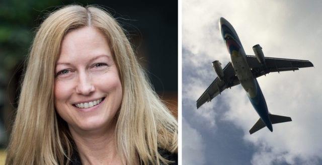 Miljöpartist vill förbjuda tjänstemän från att flyga