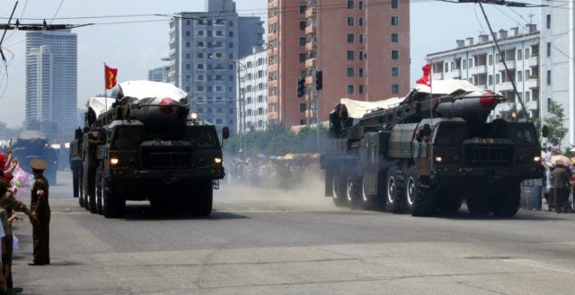Uppgifter: Nordkorea har avfyrat ballistisk robot
