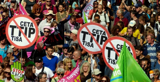 Regeringen vill godkänna Ceta-avtal