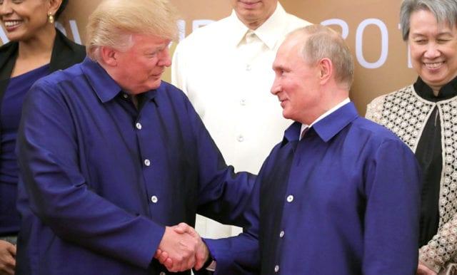 Putin tackar Trump för terrorbekämpande samarbete