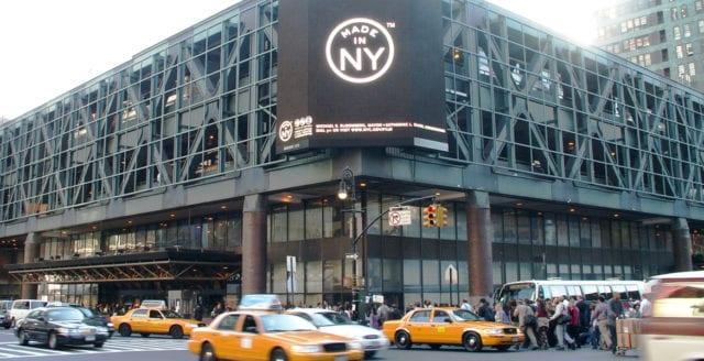 Sprängdåd vid busscentral på Manhattan