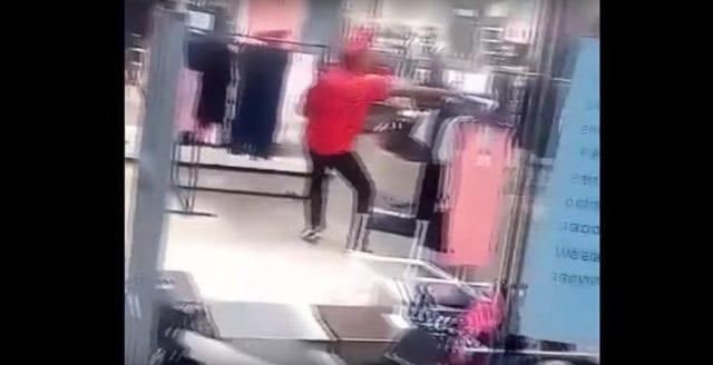 Video: Här vandaliserar sydafrikaner H&M-butik