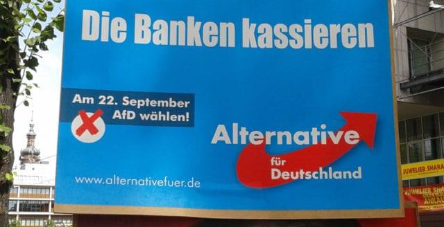 Invandringskritiska AfD nu näst största parti i Tyskland