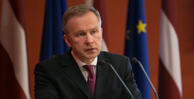 Lettlands riksbankschef gripen