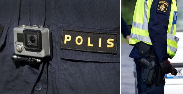 Polisen inleder försök med kroppskameror
