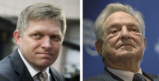Slovakiens premiärminister anklagar Soros för att vilja störta regeringen