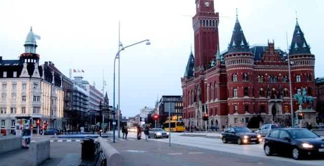 Man i 30-årsåldern knivdödad i Helsingborg