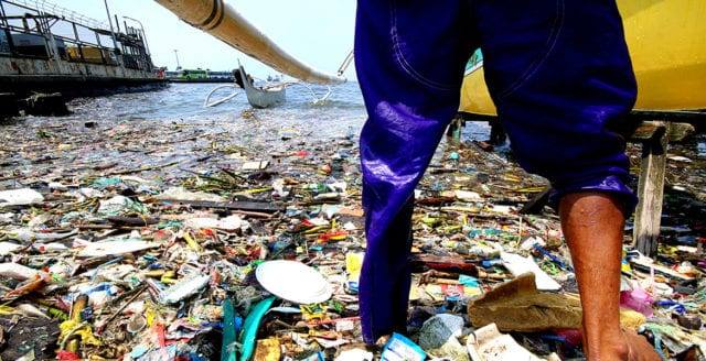 90% av all plast som förorenar världshaven kommer från Afrika och Asien