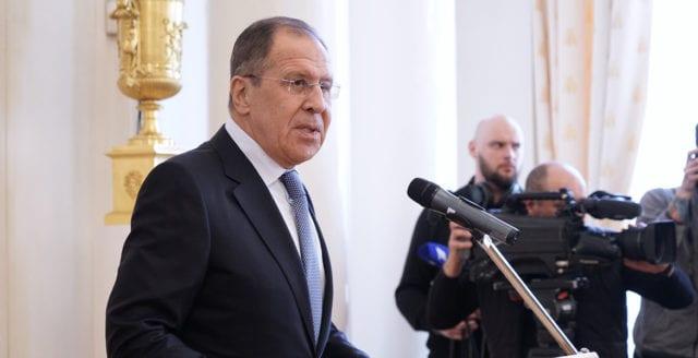 Lavrov: Bryssel har förstört relationerna med Ryssland