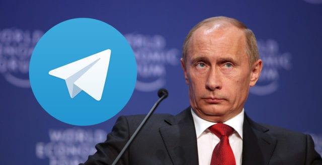 Ryssland kräver att Apple tar bort Telegram från App Store