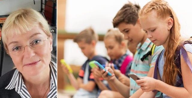 """""""Friskare elever om skolan blir mobilfri"""""""