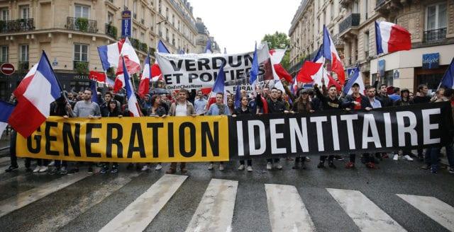 Tyskland klassar identitärer som högerextremister