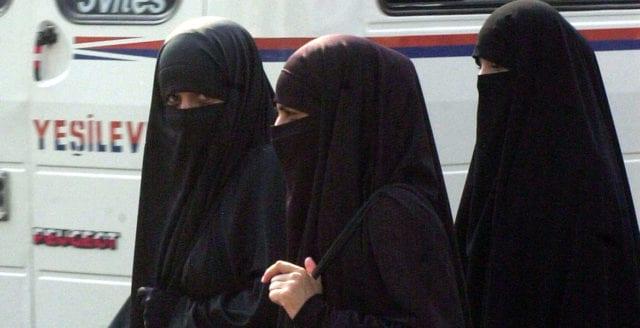 Danmark röstar för burkaförbud på allmän plats