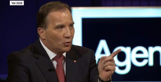 Stefan Löfven blev utskrattad av publiken i SVT:s partiledardebatt
