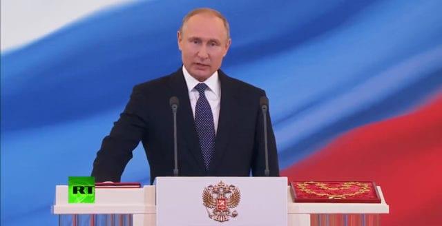 """Putin: """"Ta inte Rysslands goda intentioner för svaghet"""""""
