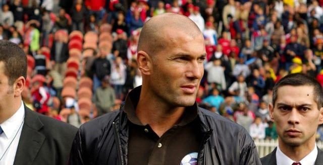 Zinedine Zidane lämnar Real Madrid