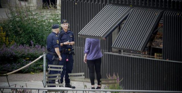 Knivdrama på asylboende i Halmstad