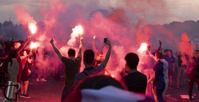 Flera döda i franska VM-firandet