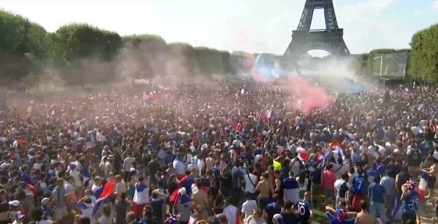 Frankrike världsmästare i fotboll!