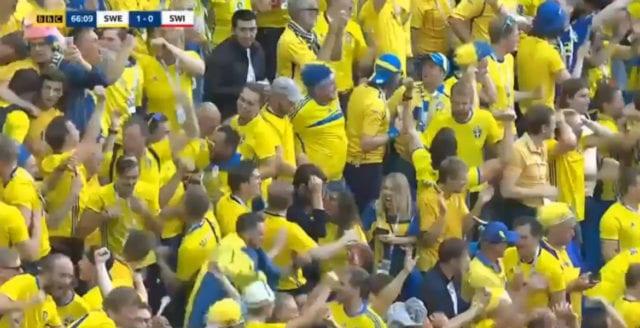 Sverige klart för kvartsfinal efter seger mot Schweiz