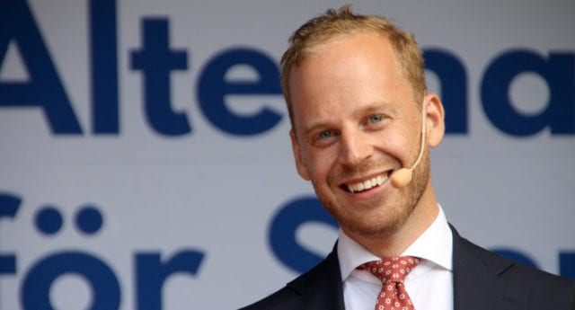 Alternativ för Sverige nu största partiet utanför riksdagen